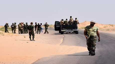 جنود سوريين في دير الزور