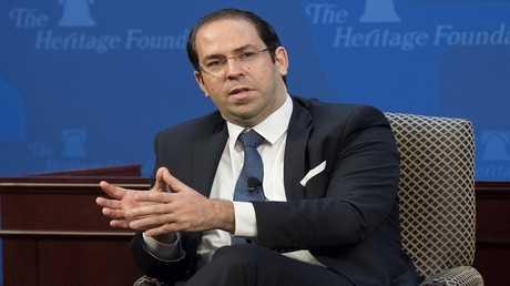 رئيس الحكومة التونسية، يوسف الشاهد