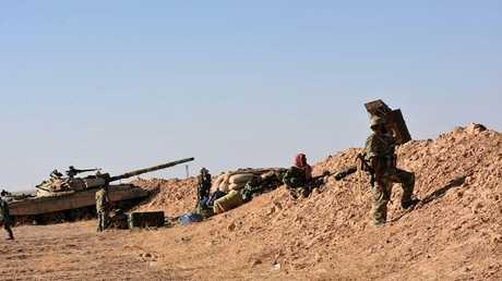 قوات سورية في دير الزور، سوريا 10 سبتمبر 2017