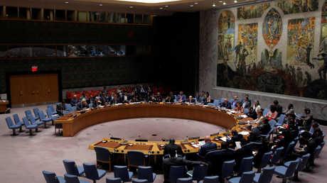 جلسة لمجلس الأمن الدولي (أرشيف)