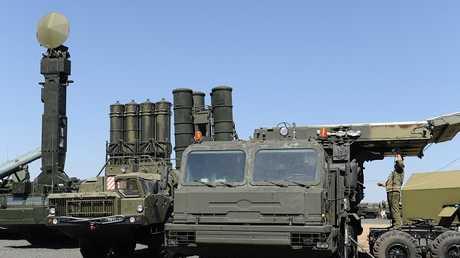 """منظومة """"إس-400 تريومف"""" الصاروخية الروسية"""
