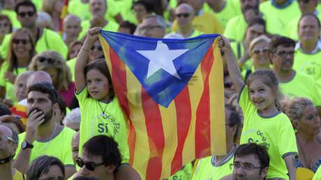 مظاهرة في كاتالونيا الاثنين تأييدا لاستقلالها