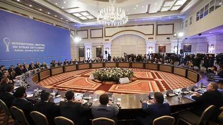 لقاء حول سوريا في أستانا - أرشيف