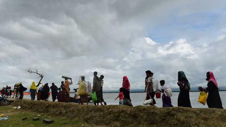 مسلمون لاجئون من ميانمار