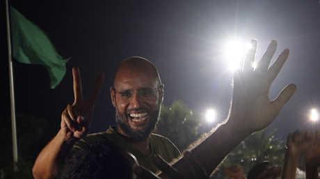 سيف الإسلام معمر القذافي  - 2011
