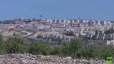 منازل مسوطنين إسرائيليين بالضفة الغربية