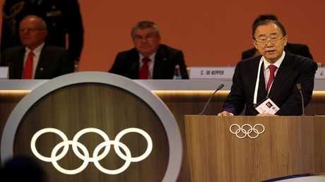 انتخاب بان كي مون رئيسا للجنة القيم داخل الأولمبية الدولية