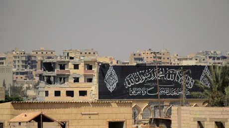 """منطقة سورية خضعت في السابق لسيطرة """"داعش"""""""