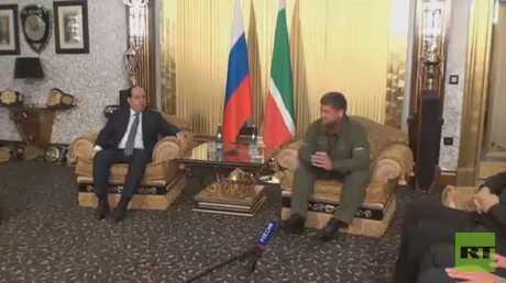 معيتيق يدخل روسيا من الشيشان ويلتقي قاديروف