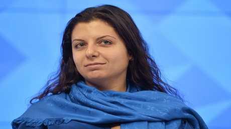 رئيسة تحرير RT مارغريتا سيمونيان