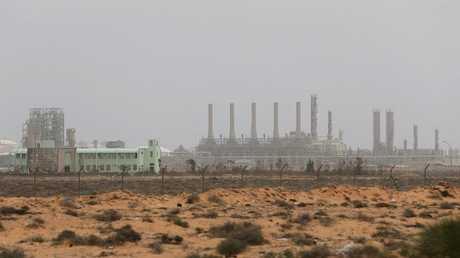 إحدى منشآت النفط والغاز في ليبيا