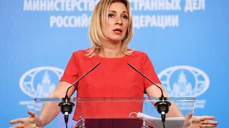 ماريا زاخاروفا، المتحدثة باسم وزارة الخارجية الروسية