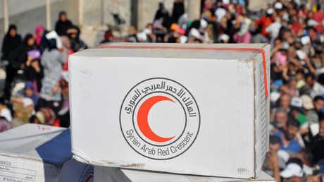 وصول مساعدات إنسانية إلى دير الزور