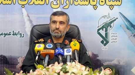 اللواء أمير علي حاجي زادة قائد القوات الجوية في الحرس الثوري الإيراني