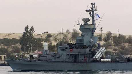 سفينة حربية إسرائيلية - أرشيف