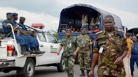 قوات أمن الكونغو قرب الحدود مع بوروندي (صورة أرشيفية)