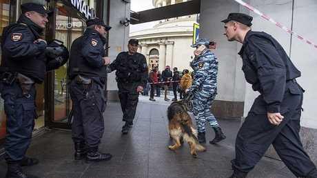 الشرطة تحقق في البلاغ بتفخيخ مركز تجاري في سان بطرسبورغ