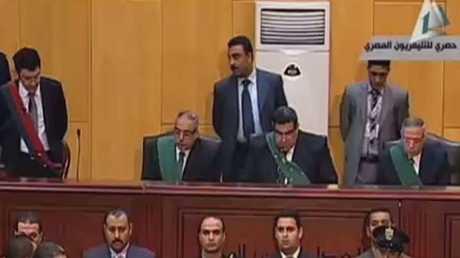 حكم قضائي نهائي على مرسي بالسجن المؤبد