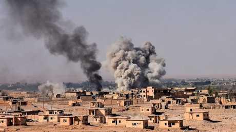 معارك قرب دير الزور (صورة أرشيفيىة)