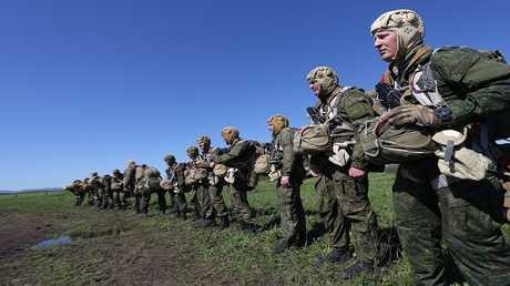 قوات الإنزال الجوي الروسية