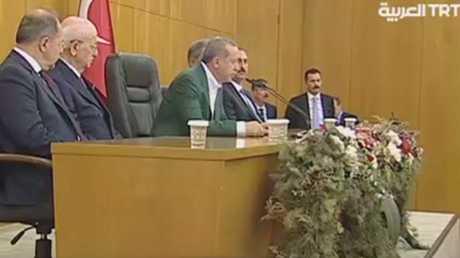 أردوغان: لن نسمح بتقسيم العراق