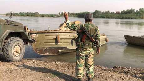 الجيش السوري يستعد لاجتياز نهر الفرات