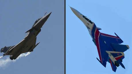 """""""سو-30"""" الروسية و""""رافال"""" الأوروبية"""