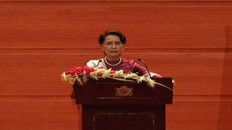 زعيمة ميانمار أونغ سان سو تشي 19/9/2017