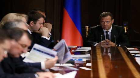 اجتماع للحكومة الروسية