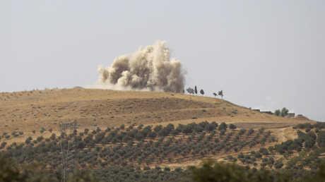 اشتباكات سابقة في حماة