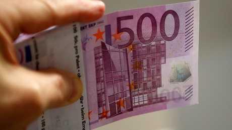 ورقة بنكنوت من فئة 500 يورو