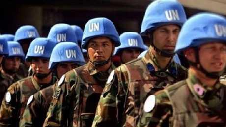 قوات حفظ السلام تابعة للأمم المتحدة