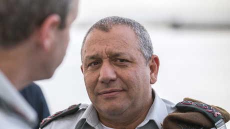 رئيس أركان الجيش الإسرائيلي غادي آيزنكوت
