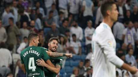 بيتيس يسجل هدف الفوز على ريال مدريد في الوقت القاتل