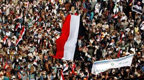 الحوثيون يتظاهرون في العاصمة اليمنية صنعاء