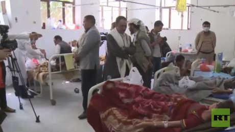 تدهور الوضع الصحي منذ اندلاع حرب اليمن
