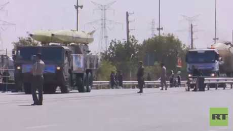 طهران تكشف عن صاروخ باليستي جديد