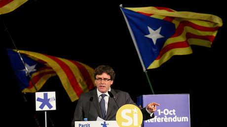 رئيس إقليم كاتالونيا الإسباني كارليس بوتشديمون