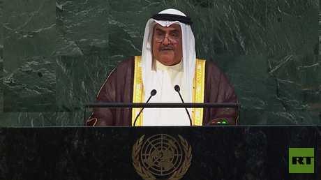 وزير خارجية البحرين: قطر كانت داعمة للأحداث الإرهابية الممنهجة التي عاشتها بلادي