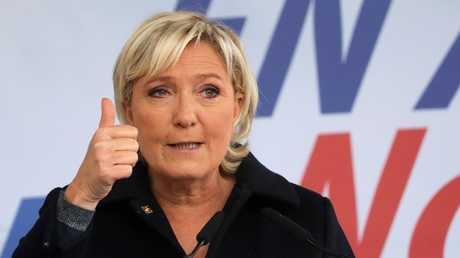 زعيمة اليمين الفرنسي المتطرف مارين لوبان