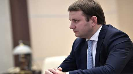 وزير التنمية الاقتصادية، الروسي، مكسيم أوريشكين