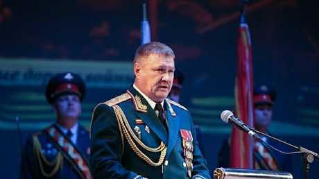 اللواء فاليري أسابوف، أرشيف