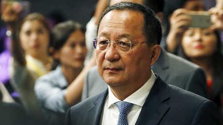 وزير خارجية كوريا الشمالية، ري يونغ هو