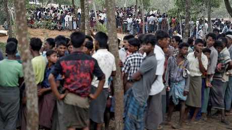 لاجئون من الأقلية المسلمة الروهينغا