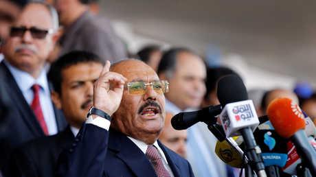 الرئيس اليمني السابق علي عبد الله صالح (أرشيف)