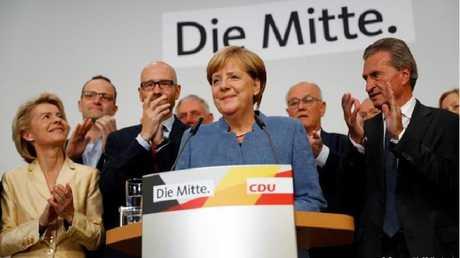 ميركل تفوز في الانتخابات الألمانية