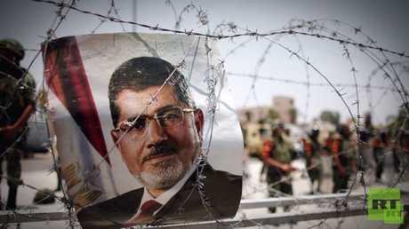 صورة للرئيس المصري المعزول محمد مرسي