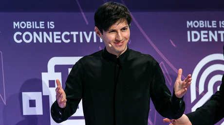 """بافيل دوروف، مؤسس شبكة """"VK.com"""" وتطبيق """"تيليغرام"""""""