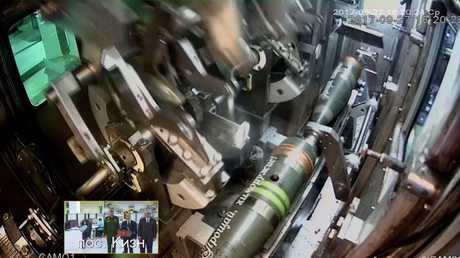 روسيا تدمر آخر مخزون من سلاحها الكيماوي