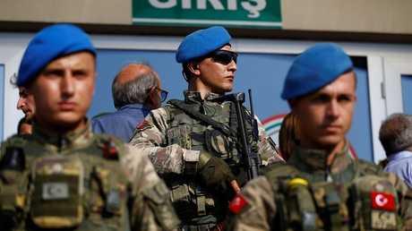 عناصر من  القوات التركية - أرشيف -